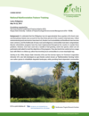 National Rainforestation Trainers Training Course Report