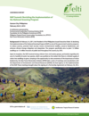 NGP Summit: Revisiting the Implementation of the National Greening Program