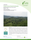 Ecosystem Services and Tropical Forest Restoration