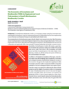 The Economics of Ecosystems and  Biodiversity (TEEB) for Regional and Local  Policymakers in Brazil's Northeastern  Biodiversity Corridor