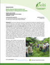 Native Species Reforestation, and Agroforestry and Silvopastoral Systems