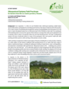 Silvopastoral Systems Field Practicum  for farmers from the Los Santos province, Panama
