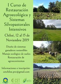Poster for the course led by ELTI alumni Bárbara Gómez and Carlos Venegas