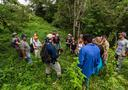 Participants at a field course in Panama.