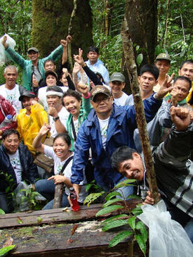 Training on Rainforestation 2011
